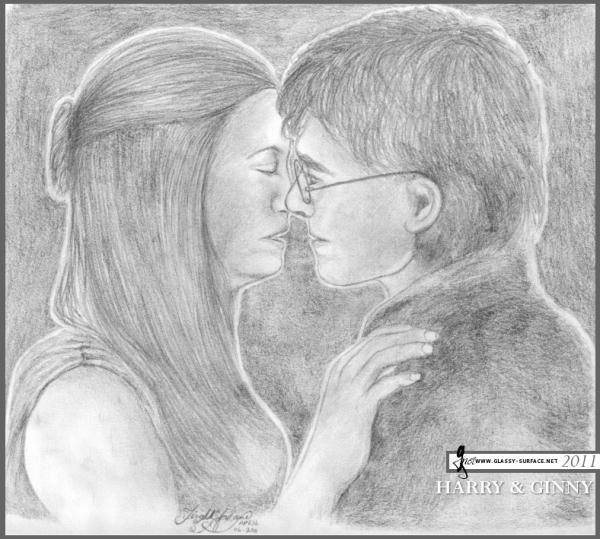 Daniel Radcliffe, Bonnie Wright by teelecki